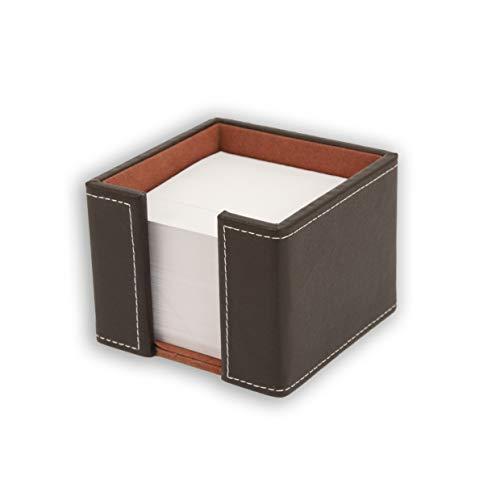 Osco BPUMP1 Luxus Faux Leder, Kleinteileaufbewahrung, braun