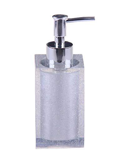 Distributeur de savon liquide pour les mains à base de résine [Blanc]