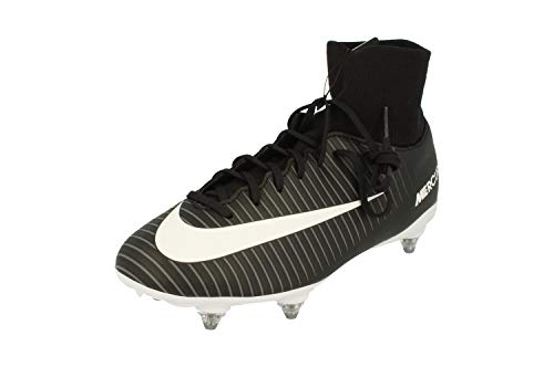 Nike Junior Mercurial Victory VI DF SG Football Boots 903596 Soccer Cleats (UK 5.5 us 6Y EU 38.5, Black White Dark Grey 002)