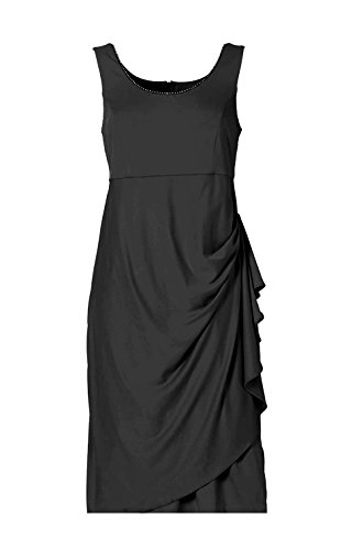 M.I.M. Abendkleid m. Strass, schwarz (52)