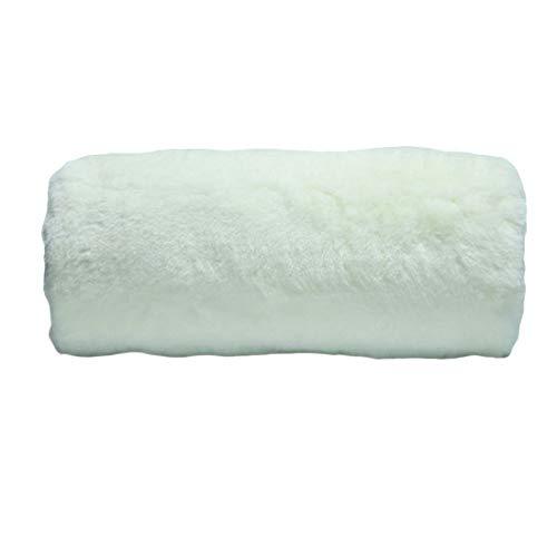 SwirlColor Kunstpelzärmel für Warme Hände für Frauen Hand Muffs Faux Pelz Muffs Weiß