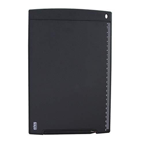 zhangxia Howshow LCD da 12 Pollici con sensore di Pressione e-Note Paperless Writing Tablet Writing Board (Nero) (Colore : Black)