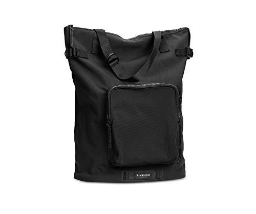 TIMBUK2 Convertible Backpack Tote Bag, Jet Black Lug