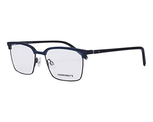 Humphrey's Brille (581074 70) Acetate Kunststoff - Metall blau - gun metall