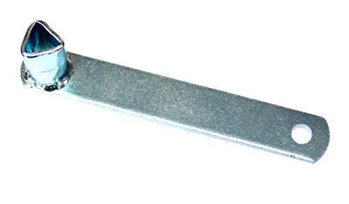 Feuerwehrschlüssel Dreikant 17mm, für M12 DIN 22424, Pfostenschlüssel, Dreikantschlüssel, Dornschlüssel