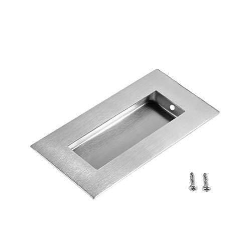 New Lon0167 4' x Destacados 2 'empotrado Empuñadura eficacia confiable de la puerta corrediza Flush Pull 201 de acero inoxidable(id:047 54 19 7b3)