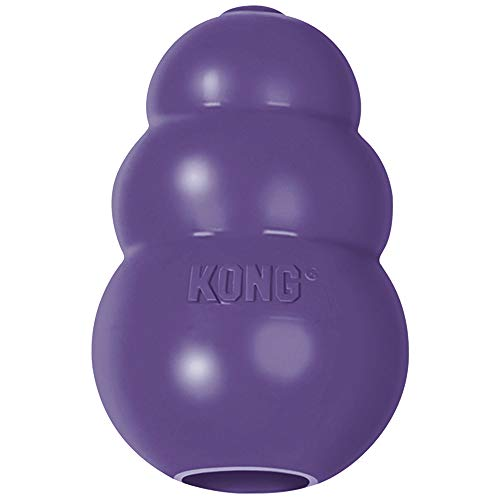 KONG - Senior Dog Toy Gentle Natural Rubber - Fun to Chew, Chase and Fetch - for Small Dogs