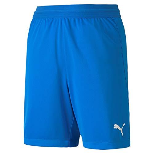 Puma Teamfinal 21 Knit Shorts Jr, Pantaloncini Unisex Bambini, Electric Blue Lemonade, 116