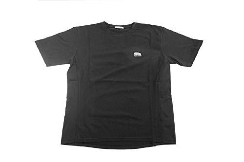 アブガルシア(Abu Garcia) スコーロン(防虫素材) ドライ半袖Tシャツ ブラック Lサイズ ブラック L