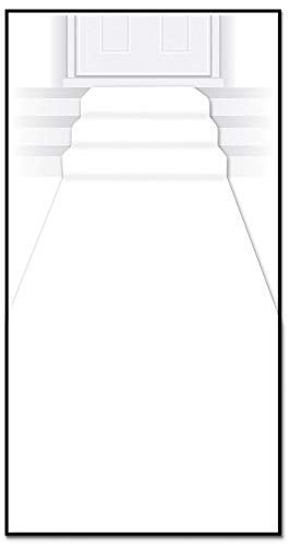 Beistle Carpet Runner, 24in by 15 ft, White, 1 piece