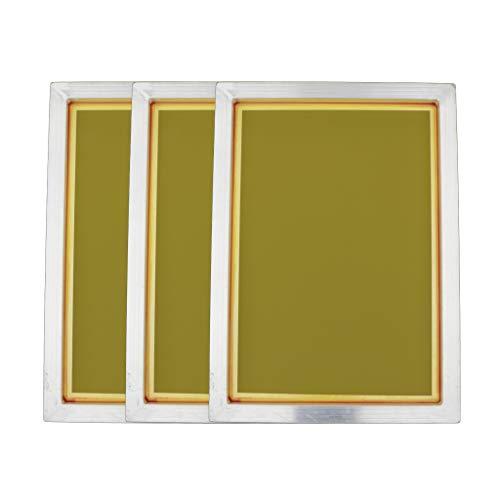 Gazechimp 3pcs 120T Aluminium Siebdruckrahmen Screen Frame Siebdruck Rahmen Siebdruck Bildschirme