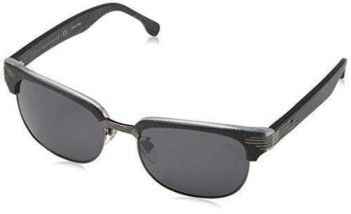 Lozza Unisex Sl2253M Sonnenbrille, Grau (SHINY GUNMETAL), Einheitsgröße