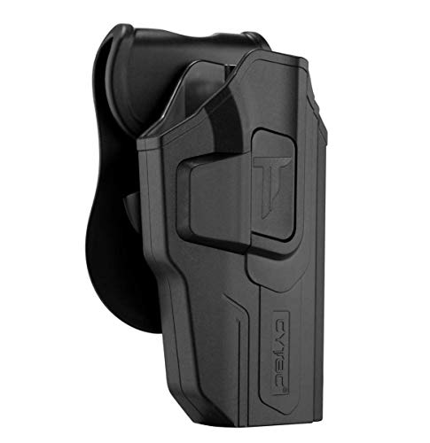 Sig P226 Holsters, OWB Holsters for Sig Sauer P220 P226 Full Size 4.4'' Barrel, Tactical Outside The Waistband Belt Carry with 360°Adjustable Polymer Paddle-RH