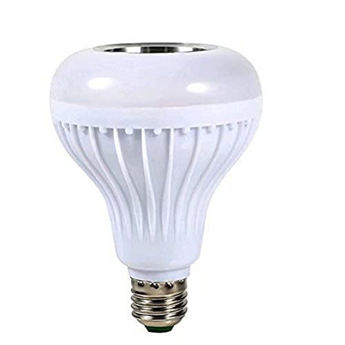 Laoonl - Lampadina LED dimmerabile con telecomando a 24 tasti, con funzione di sincronizzazione musicale RGB e cambia colore, per casa, feste, bar