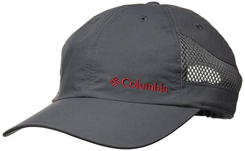 Columbia Tech Shade Hat - Gorra unisex, Nailon, Gris (Graphite) Talla: O/S, 1539331