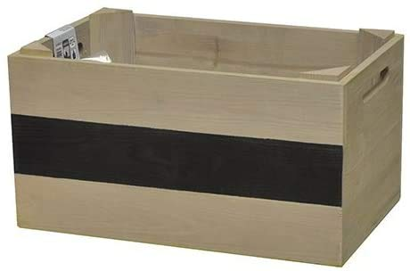 'Wagner Mobile Plante Beet Herbes Box – Pin Massif, FSC, Taupe, 39 x 24 x 20 cm, 4 Roues, étiquette, Charge maximale 50 kg – 25023001