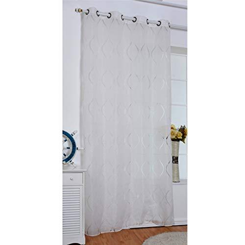 ruiruiNIE Moderne Welle Bubble Tulle Voile tür Fenster Vorhang Sheer Panel vorhänge schal schabracken für Wohnzimmer Schlafzimmer