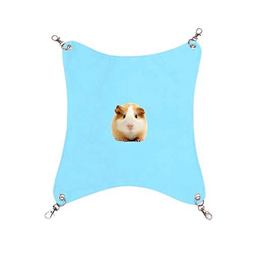 Hamster Bed Kat Hangmat Rat Kooi Accessoires Hamster Hangmat Rat Bed Fret Hangmatten Huisdier Hangmat Kat Hangmat Hamster Kooi Accessoires Kat Bedden blue,l