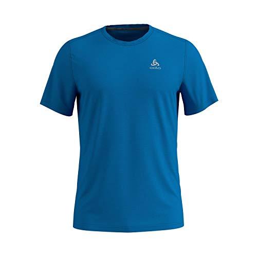 Odlo Herren T-Shirt s/s Crew Neck F-Dry, Blue Aster, XXL