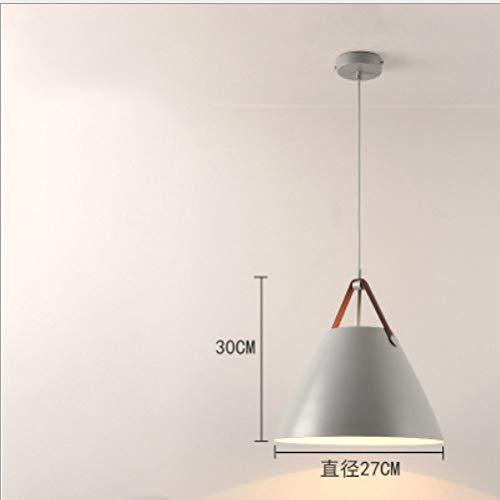 Hanglamp plafondlamp Nordic postmoderne minimalistische persoonlijkheid kunst trompet restaurant enkele kop aluminium, F