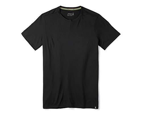 Smartwool - Maglietta da Uomo Merino Sport 150 Tee, Uomo, t Shirt, SW0161360011001, Nero, L