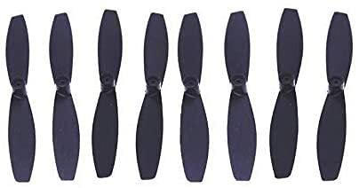 Funzionale Elica 8 coppie Eliche Puntelli lame Sostituzione pezzi di ricambio per minidroni Parrot Rolling Spider Accessori per droni Accessori per droni (Colore: rosso) (Colore: nero) ( Color : Red )