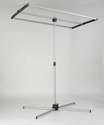 Juwel Swing 200 Séchoir à linge (extrêmement peu encombrant, hauteur d'accrochage réglable, surface de séchage : 150 x 79/40 cm)