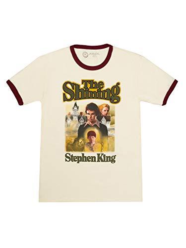 The Shining Stephen King Retro Ringer T-shirt, S to 3XL