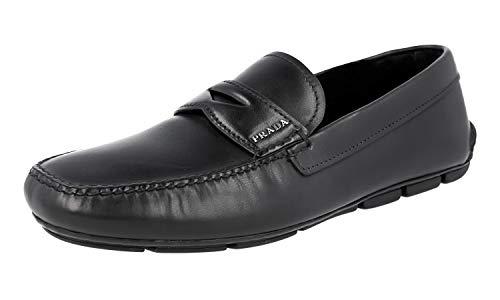 Prada Herren Schwarz Leder Business Schuhe 2DD011 EPU F0002 42.5 EU/UK 8.5