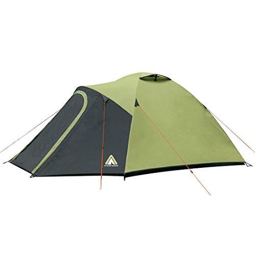 10T koepeltent voor 3, 4 of 5 man en diverse Kleuren naar keuze, tent met voortbouw, 5000 mm campingtent, waterdichte iglo-tent, compacte trekkingtent.
