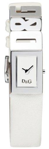 D&G Dolce&Gabbana Damenuhr 'Shout' DW0508 weisses Armband