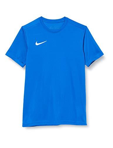 NIKE Y Nk Dry Park VII JSY SS Camiseta de Manga Corta, Unisex niños, Royal Blue/White, M