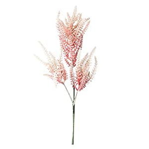 Artificial Perilla Flowers – Colorful Fake Plastic Silk Perilla Plant Flower for Easter Spring Wedding Bouquet Centerpiece Floral Arrangement Cemetery Table Decor