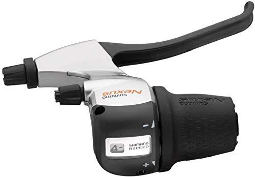 Palanca de cambios y freno Shimano Nexus de 8 velocidades SB-8S20 (mango...