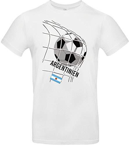 Shirtstown – Camiseta de fútbol Argentina, país, país, fútbol, camiseta de los países, camiseta de los países, camiseta de deporte, camiseta de club, fútbol Blanco M