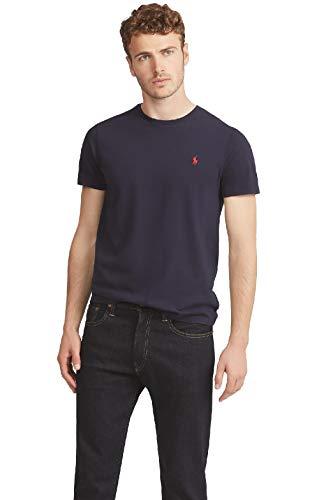 Polo Ralph Lauren Tee-Shirts T-Shirt, Blu (Inchiostro A4000), M Uomo