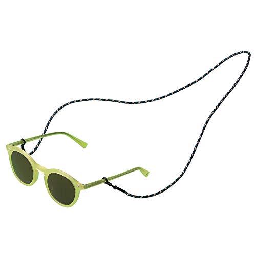 KNOK Brillenband Sunglass Strap - Brillenbänder Brillenkette Universal Accessoire für Sonnenbrillen und Lesebrillen - Brillenhalter Brillenschnur (Camouflage Grün)