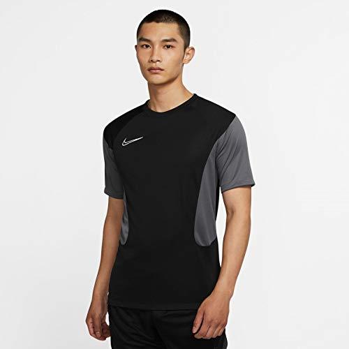 Nike CV1475-010 M NK Dry ACD Top SS FP MX T-Shirt Uomo Black/Iron Grey/White/(White) XL