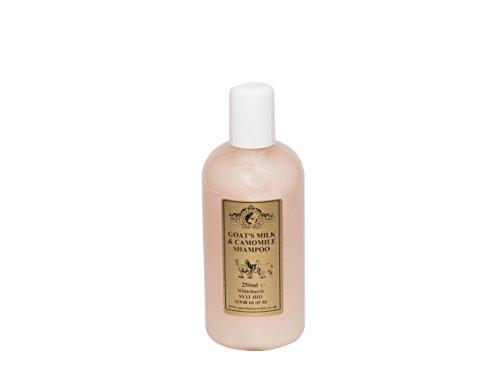 Ziegenmilch & Kamillen Shampoo 250ml für Psoriasis Ekzem Trockene Haut Dermatitis Rosacea empfindliche Haut. Hergestellt in Großbritannien von Elegance Natural Skin Care