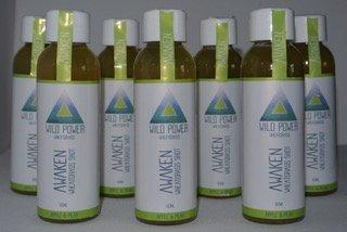 Alcalinizante Wheatgrass Shot en un paquete de 7 x 60 ml. Proporciona energía. Refuerza los sistemas inmunológico y digestivo. Vitaminas Vegan Natural. Sabor a manzana y pera de Wild Power Wheatgrass