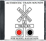 Authentic Train Sounds for Model Railroads (2 Tracks) (Audio CD)