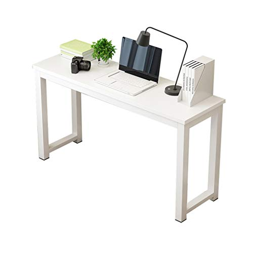 Slaapkamer Desktop Bureau, balkon schrijftafel Schilderen Dressing Table - Cafe Meeting Guest Eettafel BFF Gift Halloween (Color : White, Size : 120 * 40 * 75CM)