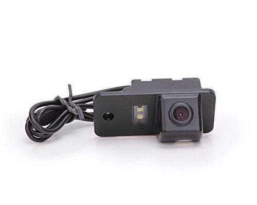 Dynavsal HD Caméra de Recul Voiture en Couleur Kit Caméra Vue arrière de Voiture Imperméable IP67 avec Large Vision Nocturne pour A3 A4 A5 A6 A8 Q3 Q5 Q7 A6L A8L A4L Passat 5D B7 B8 B9 R36 TT TTS