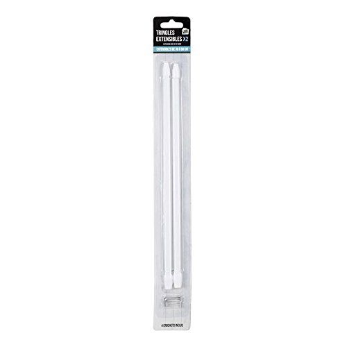 JE CHERCHE UNE IDEE di8620Barra Extensible plástico Blanco 1x 30cm
