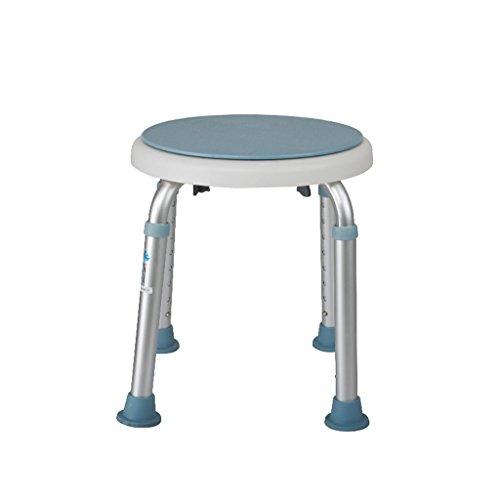 Chaise de bain Ali en Aluminium Salle de Bain Anti-dérapant Tabouret Personnes âgées handicapées Femmes handicapées 33 * (35.5-54) cm
