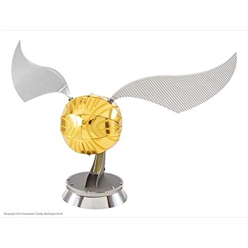 Metal Earth Harry Potter Golden Snitch 3D Model Kit, Color, Estándar (MMS442)