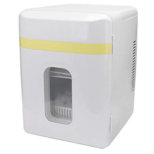 Mini Refrigerador Refrigerador De Automóviles, 10l Mini Coche Frigorífico Frigorífico Y Calentador 60w Power Single Door Refrigerador 6-10l Capacidad De Almacenamiento Coche Congelador Hogar Refrigera