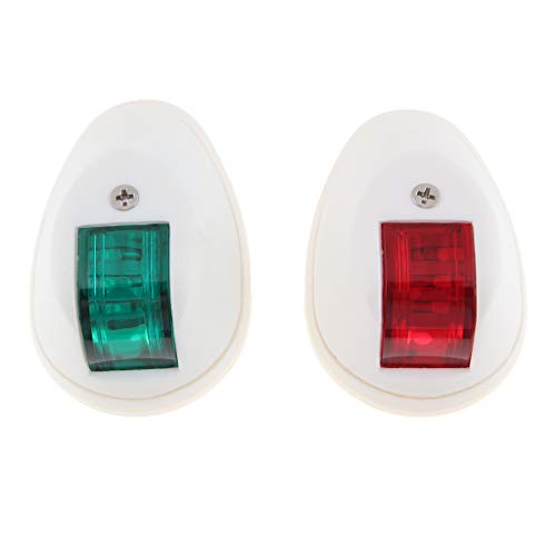 Homyl Feux de Navigation à LED Kit D'Éclairage Rouge Vert - Blanc