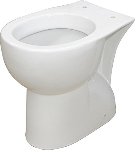 Vaso water wc sanitari per disabili anziani alto h 47 cm