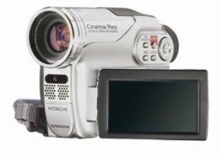 Hitachi DZ-HS 300 E DVD + HDD Camcorder mit 8GB